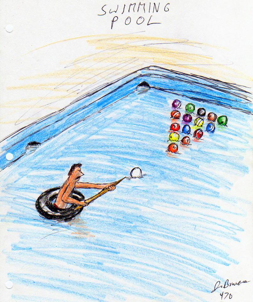 Swimming Cartoon Car Interior Design